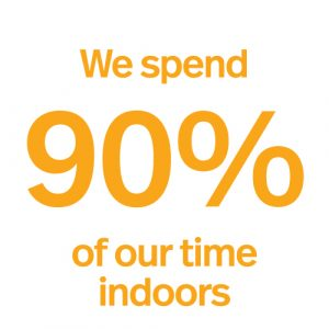 90%timeindoors